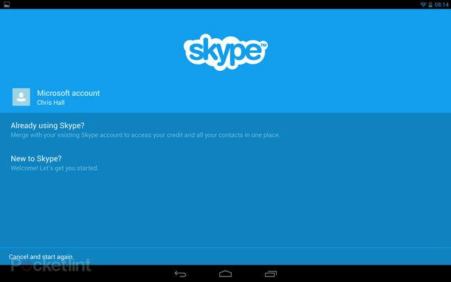 Skype for Android 3.0 brings tablet optimisation, improved quality, Microsoft sign-in   - photo 2