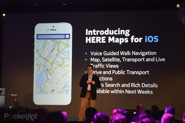 'Here' by Nokia: New cross-platform, cloud-based mapping service - photo 3