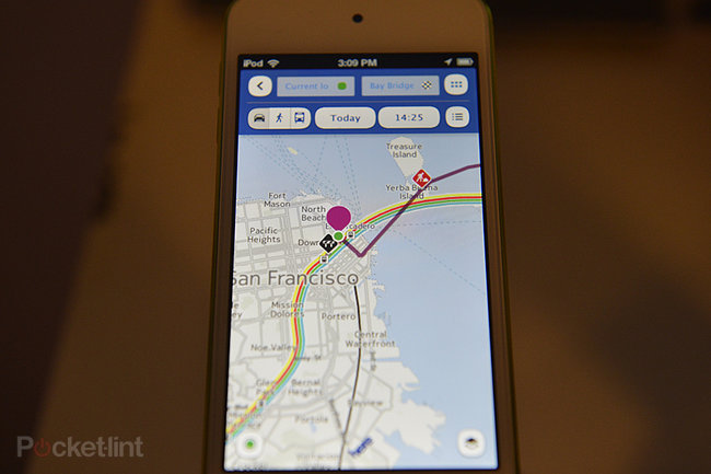 Here Maps by Nokia for Apple iOS pictures and hands-on - photo 8