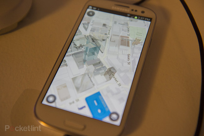 Here Maps by Nokia for Android pictures and hands-on - photo 2