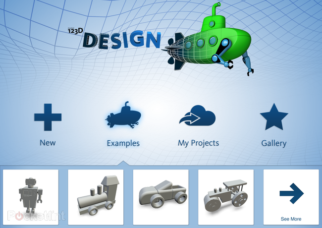 APP OF THE DAY: Autodesk 123D Design review (iPad, Mac and PC) - photo 1