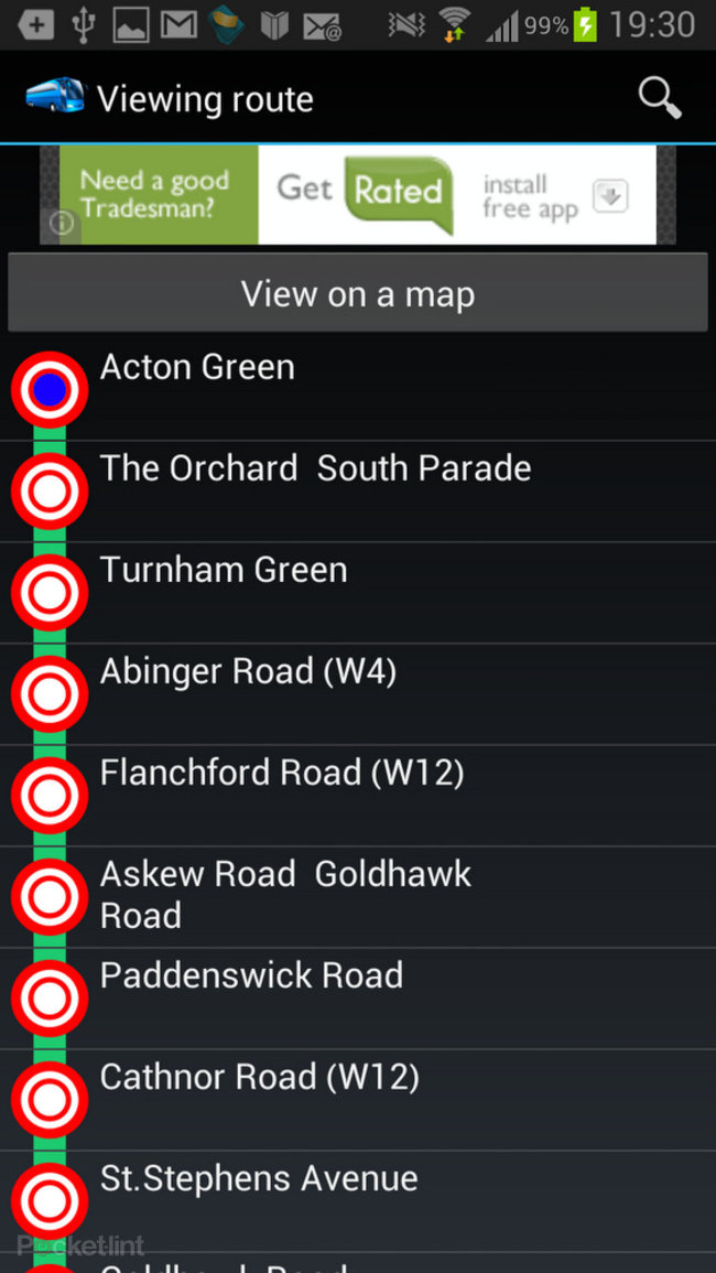 APP OF THE DAY: UK Bus Times review (Android) - photo 8