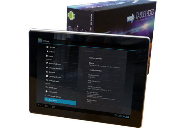 Disgo Tablet 9000 promises 9.7-inches of affordable Android entertainment   - photo 1
