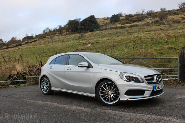 Mercedes-Benz A-Class (2013) pictures and hands-on - photo 24