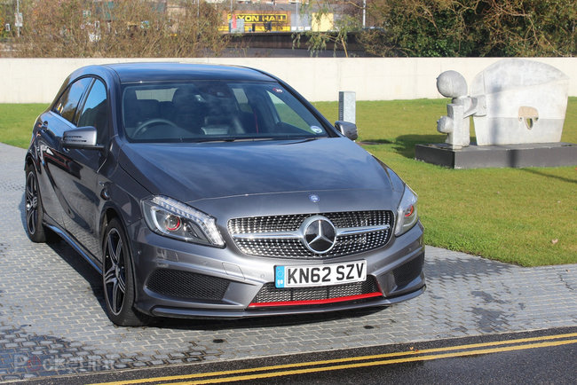 Mercedes-Benz A-Class (2013) pictures and hands-on - photo 32