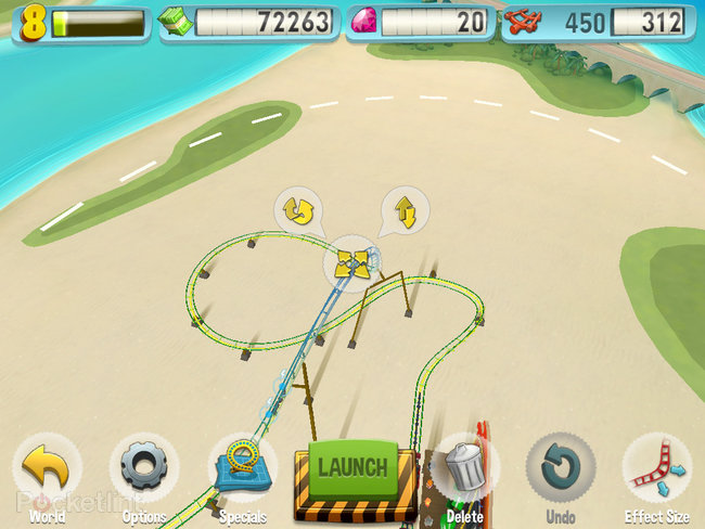 APP OF THE DAY: Coaster Crazy review (iPad / iPhone) - photo 19