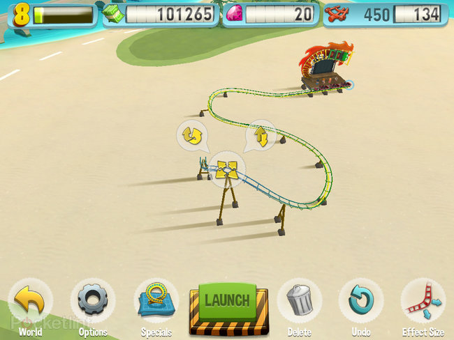 APP OF THE DAY: Coaster Crazy review (iPad / iPhone) - photo 20