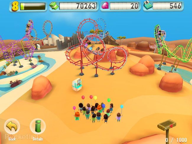 APP OF THE DAY: Coaster Crazy review (iPad / iPhone) - photo 4