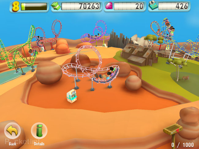 APP OF THE DAY: Coaster Crazy review (iPad / iPhone) - photo 5