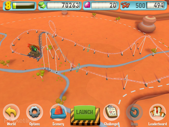 APP OF THE DAY: Coaster Crazy review (iPad / iPhone) - photo 7
