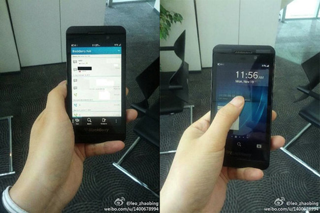 BlackBerry London BB10 smartphone pictures leak again - photo 2