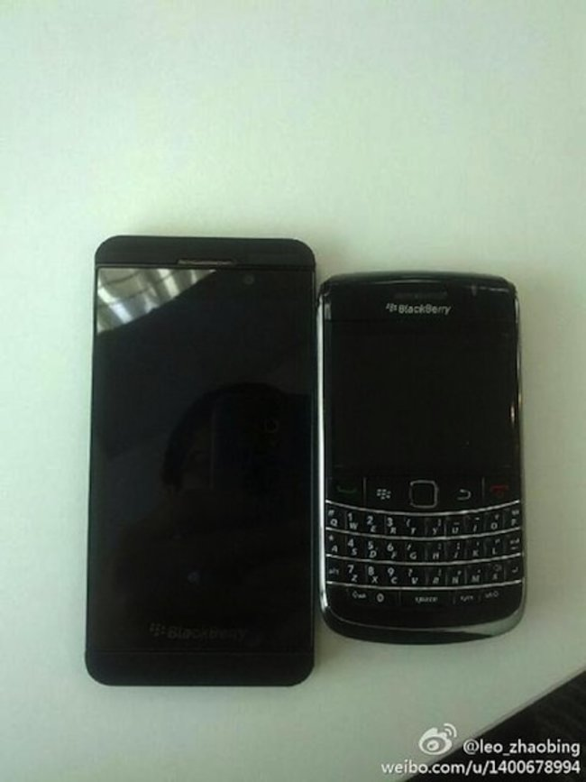 BlackBerry London BB10 smartphone pictures leak again - photo 7