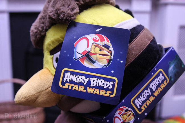 Angry Birds 8-inch Star Wars Plush - Hans Solo pictures and hands-on - photo 4