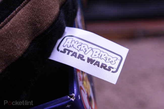 Angry Birds 8-inch Star Wars Plush - Hans Solo pictures and hands-on - photo 5