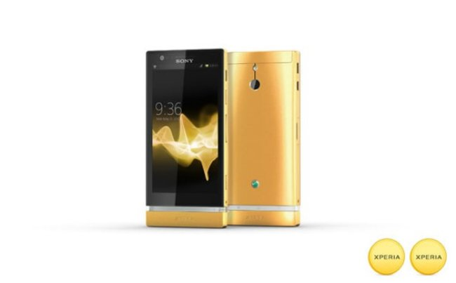 15 24K gold Sony Xperia P phones up for grabs in Facebook comp - photo 1