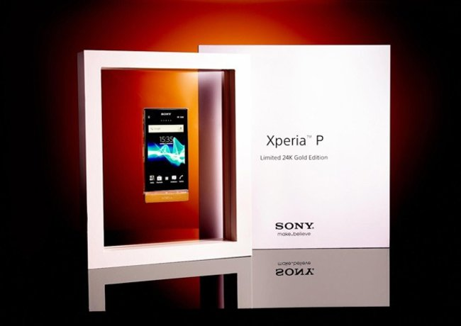 15 24K gold Sony Xperia P phones up for grabs in Facebook comp - photo 2