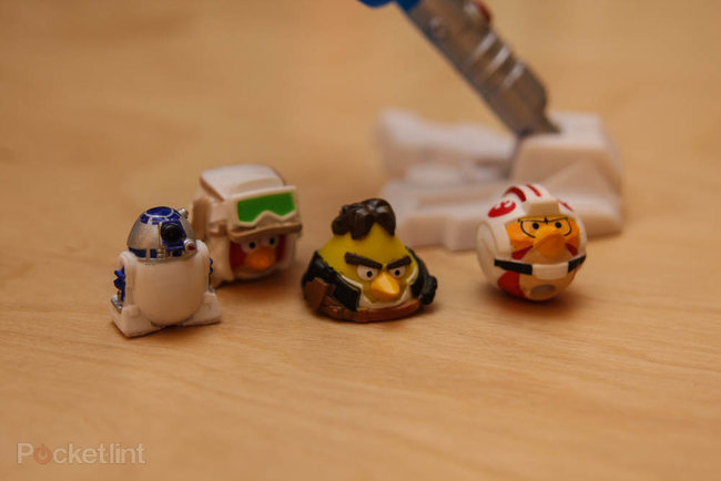 Star Wars Angry Birds AT-AT battle game pictures and hands-on - photo 5