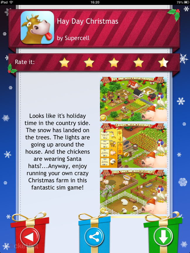 APP OF THE DAY: Advent 2012: 25 Christmas Apps review (iPhone, iPad and Android) - photo 8