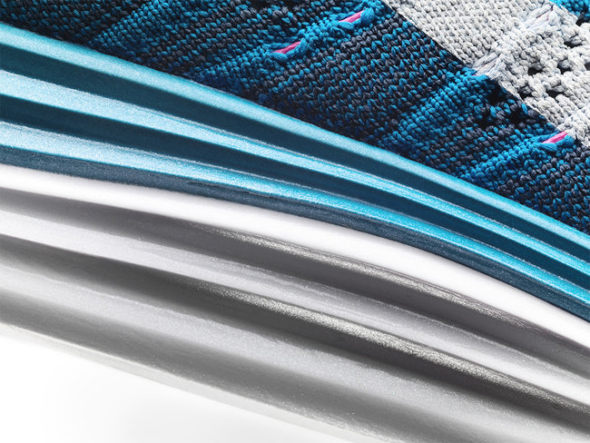 The technology behind the new Nike Flyknit One+ trainer - photo 4