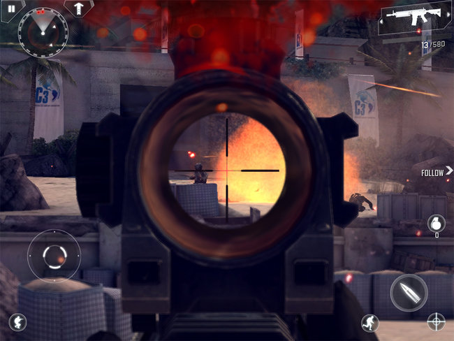 APP OF THE DAY: Modern Combat 4: Zero Hour review (iPad, iPhone, and Android) - photo 2