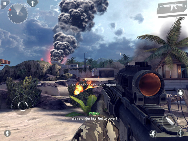 APP OF THE DAY: Modern Combat 4: Zero Hour review (iPad, iPhone, and Android) - photo 5