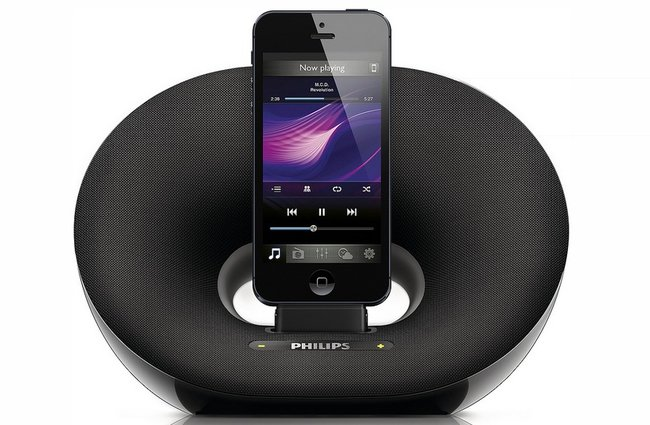 Philips Lightning docks lets you amplify your iPhone 5 - photo 2