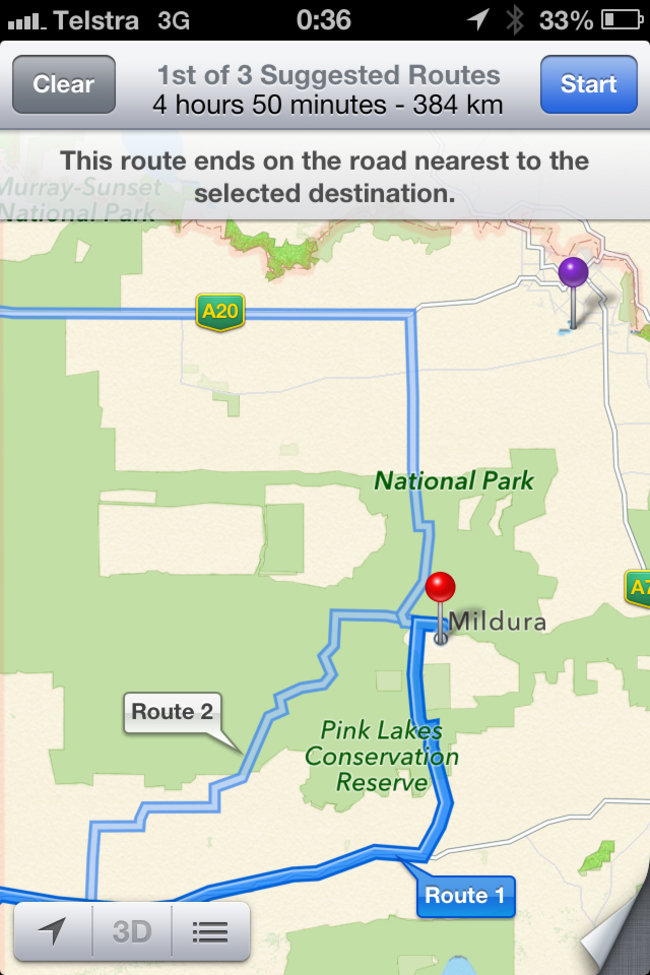 Don't use Apple Maps, potentially life-threatening, says Australian Police force, but now fixed - photo 2