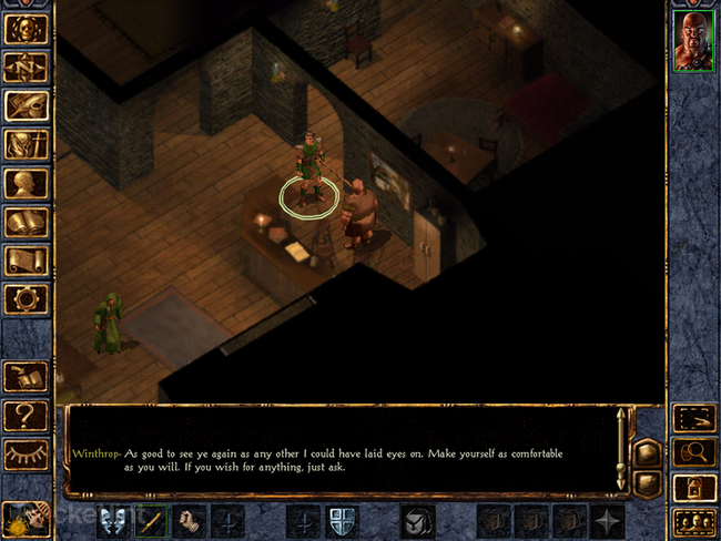 APP OF THE DAY: Baldur's Gate: Enhanced Edition review (iPad) - photo 1