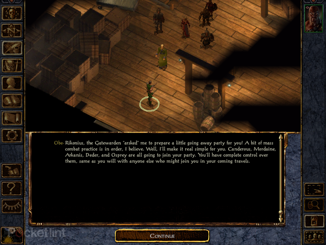APP OF THE DAY: Baldur's Gate: Enhanced Edition review (iPad) - photo 6