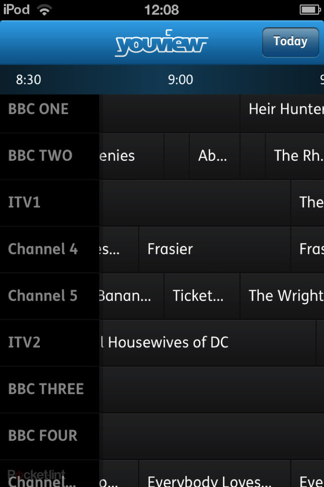 YouView app offers remote recording from iPhone, Android due in 2013 - photo 3