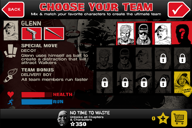 APP OF THE DAY: The Walking Dead: Assault review (iPhone) - photo 4