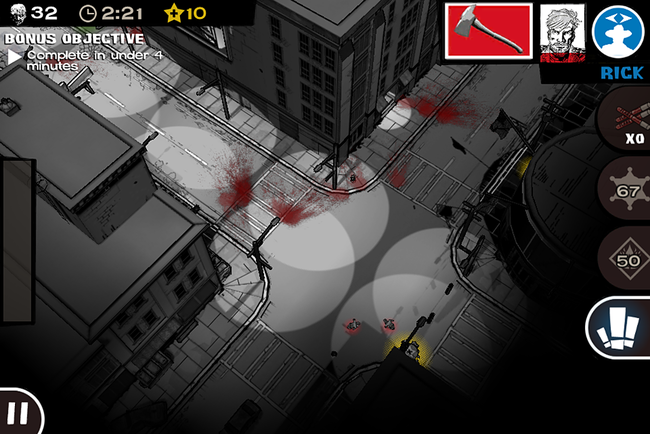 APP OF THE DAY: The Walking Dead: Assault review (iPhone) - photo 9