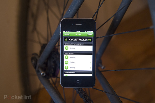 APP OF THE DAY: TrainingPeaks GPS CycleTracker Pro review (iPhone) - photo 1