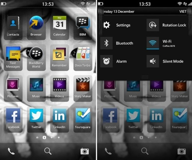 You've seen the L-Series, now here's the BlackBerry 10 UI - photo 2