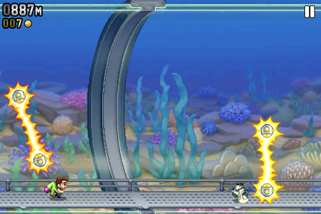 APP OF THE DAY: Jetpack Joyride review (iPhone) - photo 2