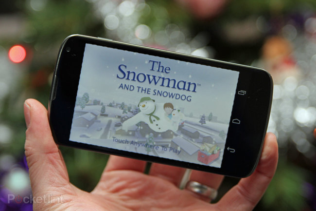 APP OF THE DAY: The Snowman and the Snowdog review (Android/iPhone/iPad) - photo 1