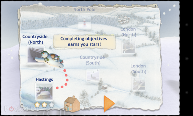 APP OF THE DAY: The Snowman and the Snowdog review (Android/iPhone/iPad) - photo 2
