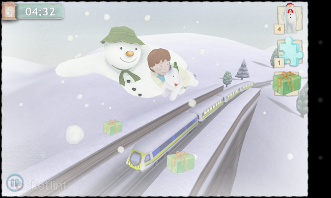 APP OF THE DAY: The Snowman and the Snowdog review (Android/iPhone/iPad) - photo 3