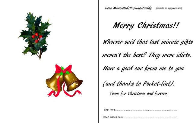Printable Christmas presents 2012: best instant gifts for the very last minute - photo 3