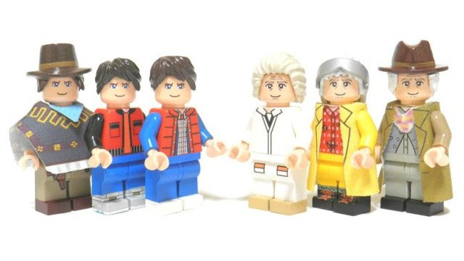 Back to the Future to get the Lego treatment, DeLorean set coming mid-2013 - photo 2