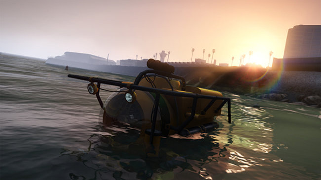 New GTA V screenshots show sharks and submarines - photo 1