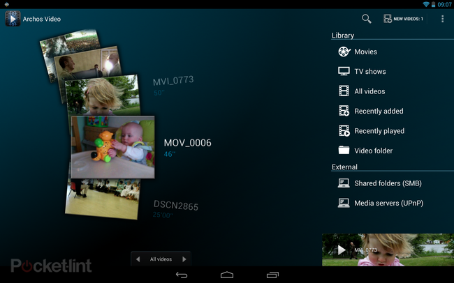 APP OF THE DAY: Archos Video Player review (Android) - photo 3