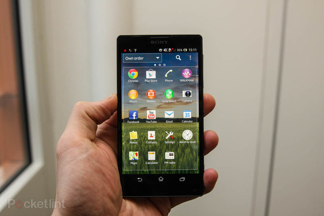 Sony Xperia ZL official, ditches Xperia Z waterproofing and design, we go hands-on - photo 11