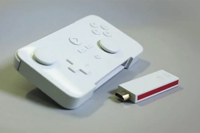 2013: The year of the Android games console, with OUYA, Green Throttle and now GameStick - photo 1