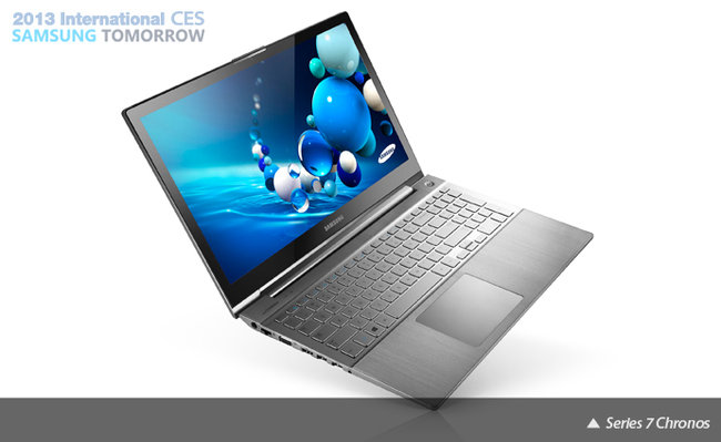 Samsung Series 7 steps up with Ultrabook and revamped Chronos laptop - photo 1