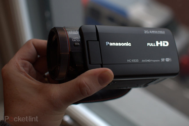 Panasonic HC-X920 HD camcorder pictures and hands-on - photo 1