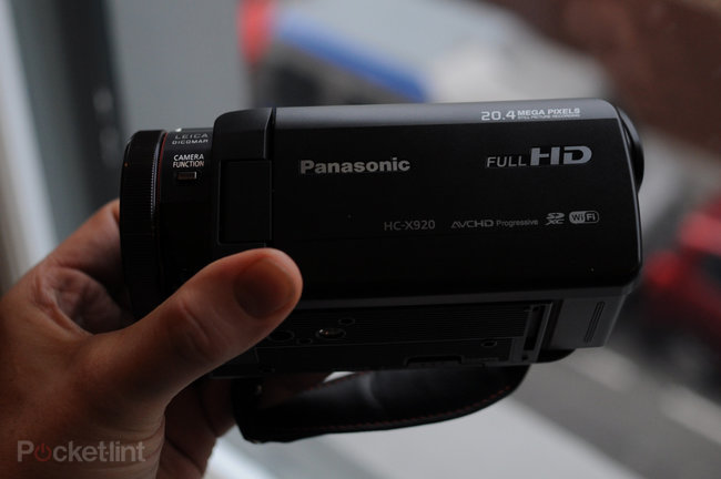 Panasonic HC-X920 HD camcorder pictures and hands-on - photo 2