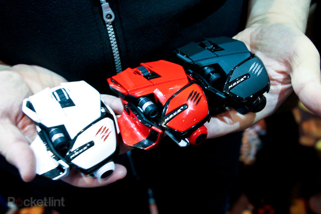 Mad Catz GameSmart universal mice, headset and controller pictures and hands-on - photo 2
