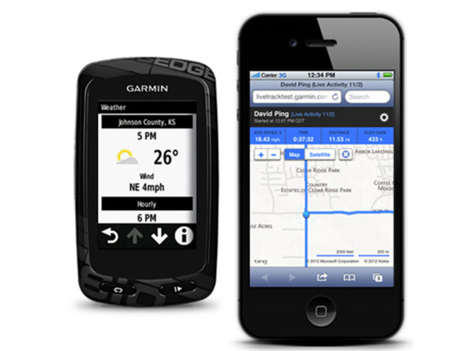 Garmin Edge 810 and 510 cycle computers track your ride, keep you connected - photo 2