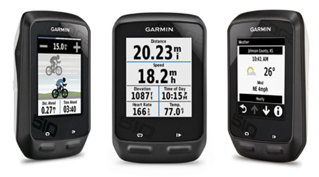 Garmin Edge 810 and 510 cycle computers track your ride, keep you connected - photo 3
